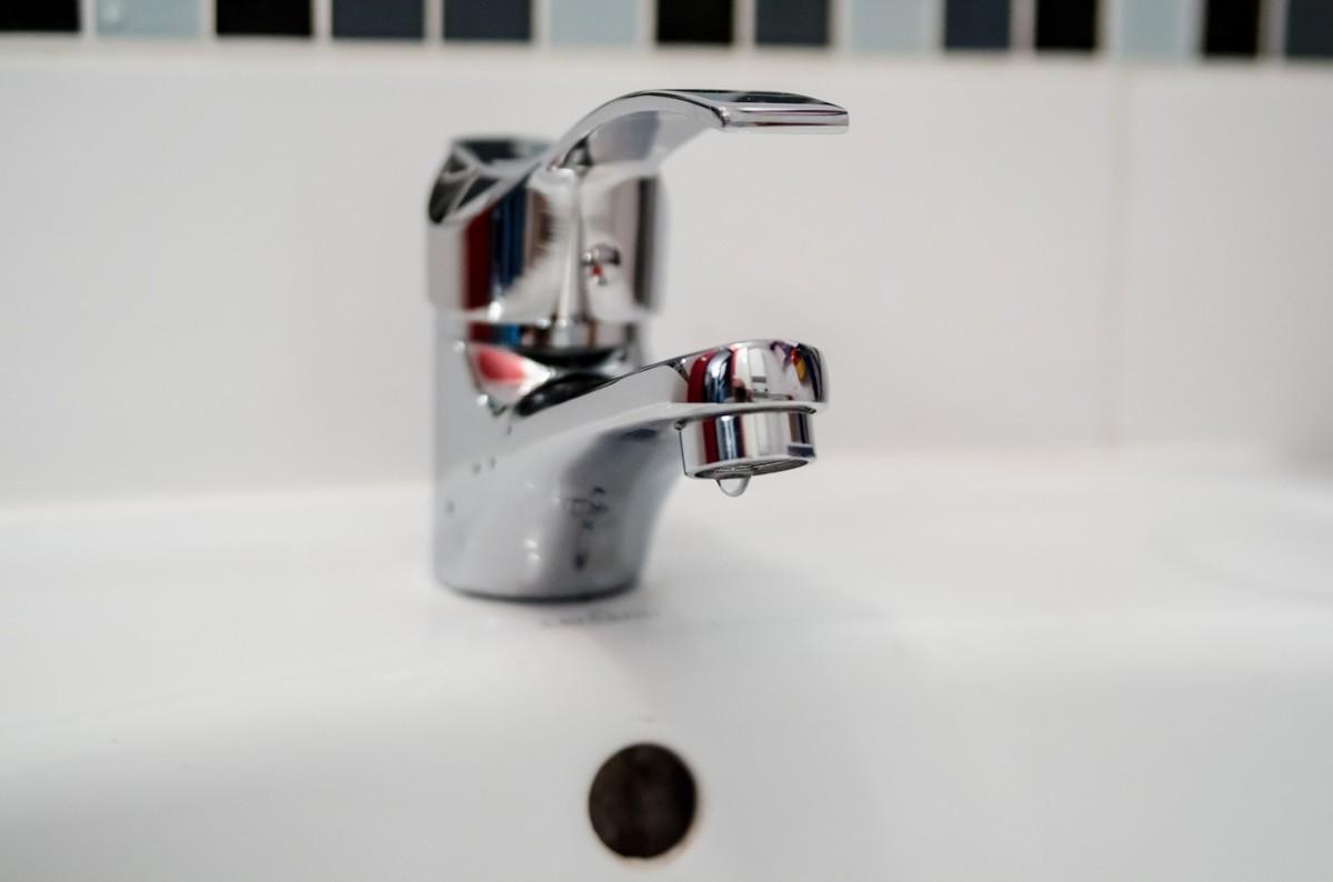 Foto einer Wasserarmatur